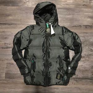 Champion C9 Puffer Jacket Black/Slate M 8-10 years